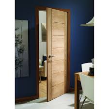 Oak Interior Doors Xl Joinery Oak Veneer Palermo Door