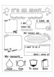 all about me mini booklets by tweet resources perfect for your