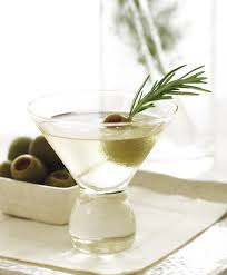 martini gin rosemary martinis recipe epicurious com