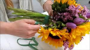 sunflower bouquet sunflower series how to make a sunflower bouquet