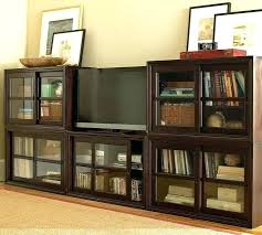 Media Cabinets With Doors Multimedia Storage Cabinet With Doors Sgmun Club