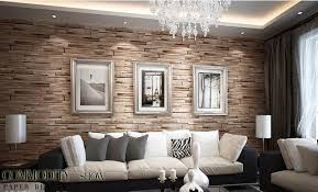 brick wallpaper in living room u2013 decoration