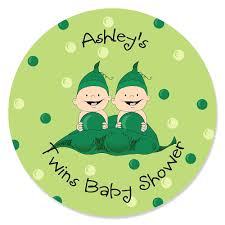 2 peas in a pod two peas in a pod personalized baby shower sticker labels