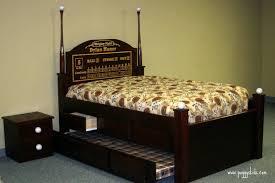 Baseball Bed Frame Special Edition Baseball Bed Custom By Chris Davis