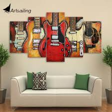 Livingroom Paintings by Online Get Cheap Guitar Wall Art Aliexpress Com Alibaba Group