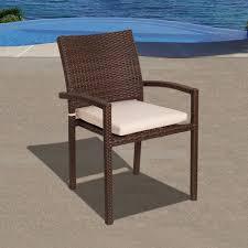 Wicker Patio Dining Chairs by Amazon Com Atlantic Liberty 5 Piece Dining Set Patio Lawn U0026 Garden