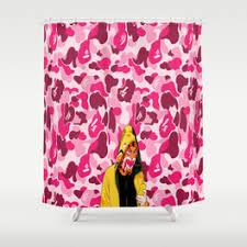Camo Shower Curtain Bape Japan Shower Curtains Society6