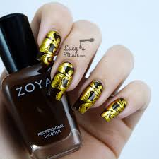 nail foil nail art design with tmart nail foils lucy u0027s stash