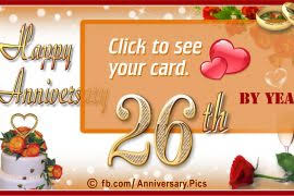 26th wedding anniversary jewelry archives wedding anniversary cards wedding anniversary