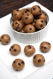 chocolate chip cookie dough balls popsugar fitness