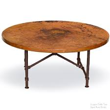 copper top coffee table 30 inch round coffee table awesome qyqbo com