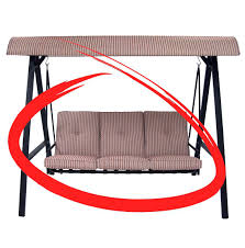 Patio Furniture Cushions Replacement by Lawn Swing Replacement Cushions Glider Swing Replacement Cushions
