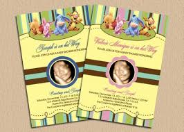 winnie the pooh baby shower free winnie the pooh baby shower invitations ideas all