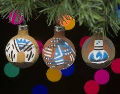 mission del rey southwest native american christmas ornaments