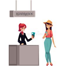 bureau d enregistrement ligne à l enregistrement d aéroport au passager et au bureau d