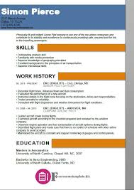 pilot resume template airline pilot resume template free resume templates