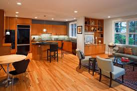 kitchen family room floor plans open floor plans kitchen dining or family room integration