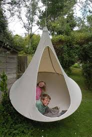 Cocoon Swing Chair Cozy Cacoon Is Part Hammock Part Tree Tent All Fun Treehugger