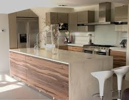 kitchen white wooden l shaped kitchen cabinet with square island
