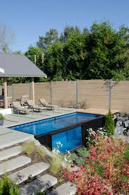 shipping container turned pool will keep you cool this summer