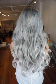 silver hair formula silver blue melt career modern salon