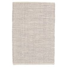 Brown And Gray Area Rug Marled Grey Woven Cotton Rug Dash U0026 Albert
