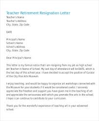 teaching resignation letter resignation letter though i have