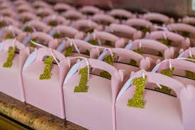 Birthday Favor Boxes by At The With Gohel Project Nursery