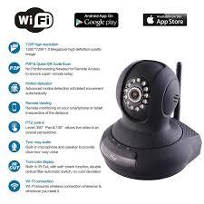 Amazon Com Ip Camera 3 Eye Wireless Wifi Camera Dome Camera With