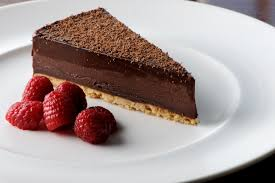 chocolate aero dessert recipe with salted caramel great british