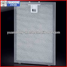 stove top exhaust fan filters aluminum filters for exhaust fans kitchen hood filter cheap price