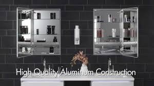 furniture lovely robern medicine cabinet on black tile wall for