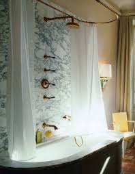 Brass Fixtures Bathroom White Bathrooms With Brass Fixture