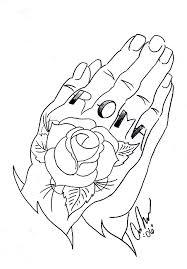 prayer hands outline free download clip art free clip art on