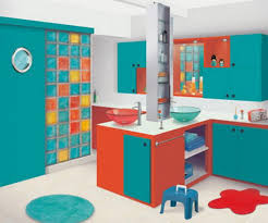 Bathroom Designs For Kids Bathroom Cool Bright Kids Bathroom - Colorful bathroom designs