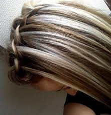 blonde hair with chunky highlights chunky blonde highlights on dark hair pictures celebrity