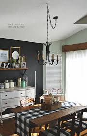 Chandelier Over Table Chandelier Makeover My Fabuless Life