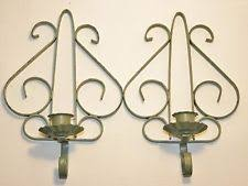 Shabby Chic Wall Sconce by Shabby Chic Candle Sconces Ebay