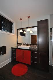 placage meuble cuisine meuble de salle de bain en placage de chêne riv cut teint de couleur