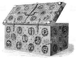 medieval chest stock vector art 175422566 istock