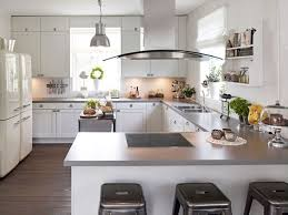 grey kitchen cabinets pictures brown laminate wooden floor iron