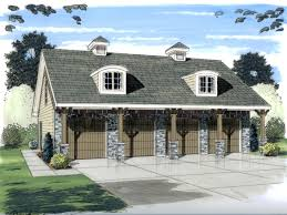 Detached Garage With Apartment Garage Plan 44058 At Familyhomeplans Com