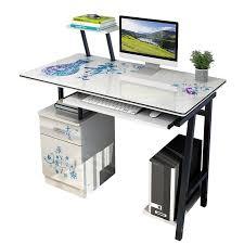 ordinateur portable bureau moderne élégant ordinateur et ordinateur portable bureau avec tiroir