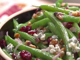 green bean recipes for thanksgiving green beans with walnuts cranberries and blue cheese recipe