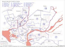 map of karachi maps orangi pilot project