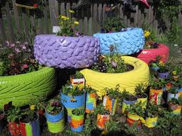 Recycling Ideas For The Garden Tire Garden Ideas 48 Ideas For Recycling Pallets Tires And