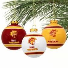 usc trojans mini hanging ornaments set of 12 usc