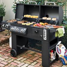 backyard professional charcoal grill hybrid grill infrared propane gas and charcoal cooking system