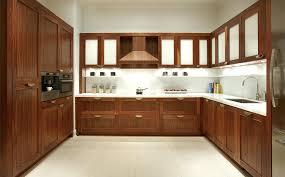 walnut veneer kitchen cabinets modern this contemporary clean