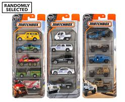 matchbox cars matchbox vehicles 5 pack assorted randomly selected ebay